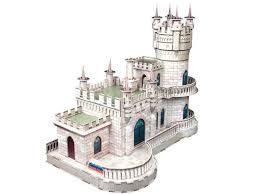 3D пазл <b>CubicFun</b>, <b>Ласточкино гнездо</b> (Россия, Крым) купить в ...