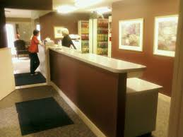 office medium size office reception desk design ideas home designs dental adopted from a clinic in apex funky office idea
