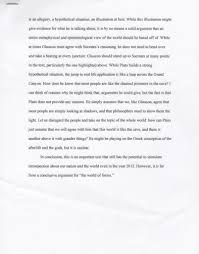 essay strengths and weaknesses of plato s the allegory of the this is a short essay that i wrote for my advanced composition course during the spring of 2012 the grade of check plus equals roughly an a