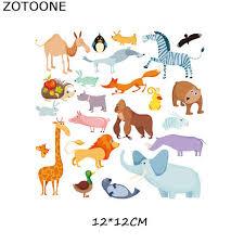 <b>ZOTOONE Cartoon</b> Animal Patches Set A level Washable <b>DIY</b> ...