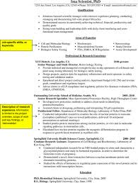 job search basics  how to convert a cv into a resume   nature    sample resume