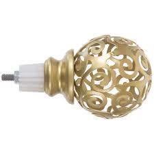<b>Наконечник</b> «Винтаж» 8.5 см цвет золото матовое в ...