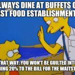 Thrifty Burns Meme Generator - Imgflip via Relatably.com
