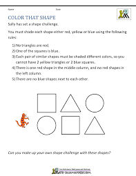 rd grade math problems 3rd grade math word problems color that shape