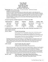 resume senior software developer resume template example software resume senior software developer resume template example software multimedia resume examples multimedia resume