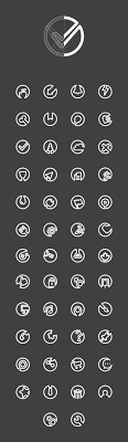 here are some simple icon designs i like how easy clean they are and each basic icons flat icons 1000