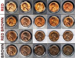 What <b>Color</b> is Your <b>Copper</b> Coin? - Grading Them