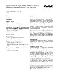 Application Note 1029
