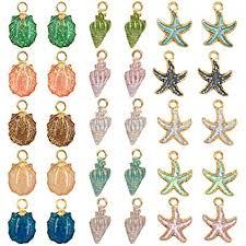 30 PCS Colors Enamel DIY Jewelry Necklace ... - Amazon.com