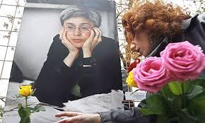 Resultat d'imatges de anna politkovskaya