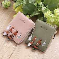 <b>Korean</b> Style Women <b>Short Student Wallet</b> Cute Mini Fold Over ...