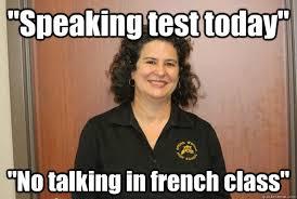Horrifyingly Horrible French Teacher memes | quickmeme via Relatably.com