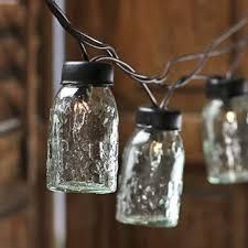 box of 6 mini glass mason jars for slipping on lights blue mason jar string lights