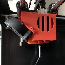 3D Printable <b>Flying Bear Ghost 5</b> K3D fan duct by Dmitry