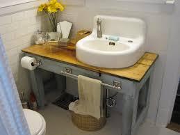 making bathroom cabinets:  tiny  diy bathroom vanity on and one of a kind bathroom vanities diy bathroom