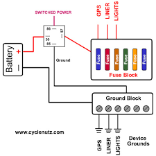 fuse block and relay installation How To Wire To Fuse Box fuse block & ground block wiring wire fuse box