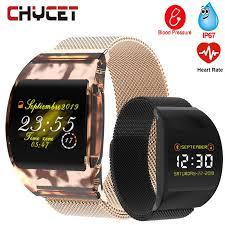 <b>Smart Watch Men Blood</b> Pressure Waterproof Smartwatch Women ...