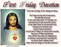 Image result for first friday devotions to the sacred heart of jesus