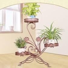 <b>Mensole Per Fiori Shelves</b> Garten Dekoration Scaffali In Metallo A ...