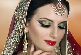 pink and gold smokey eyes glam indian stani bridal makeup tutorial i pink and purple glitter