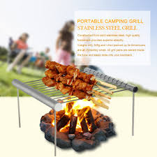 <b>Barbecue</b> Grilling Outdoor <b>Portable Camping Grill Folding</b> Compact ...