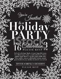 snowflake holiday party invitation template blue stock photos snowflake holiday party invitation template blue