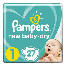 <b>Подгузники Pampers New Baby</b>-<b>Dry</b> (<b>Памперс</b> Нью Бэби) 1 ...