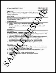 how to write job resume   professional experience education and    image