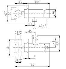 Купить <b>смеситель для биде Rav</b> Slezak Seina SE843/1CMATC ...