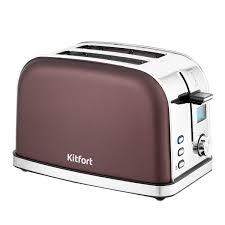 <b>Тостер Kitfort KT-2036-4</b>, темно-кофейный - купить в СПб в ...