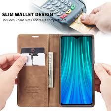<b>CaseMe Xiaomi</b> Redmi Note 8 Pro Wallet Stand Magnetic Flip Case ...