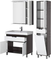 <b>Зеркало</b>-<b>шкаф Aquanet</b> Гретта 90 венге купить в магазине ...
