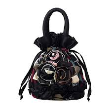 <b>Womens Ladies</b> Handbag <b>Drawstring Bucket Bag</b> Coin Purses Key ...