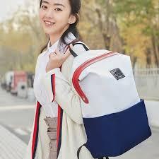 <b>Рюкзак Xiaomi</b> Mi <b>90</b> Points Lecturer Leisure Backpack White Blue