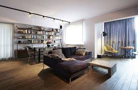 decor for rail lighting in the living room design of apartment design ideas inhome library apartment lighting ideas