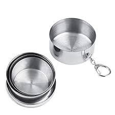 Eco-Friendly Light-Weight 220ml Stainless Steel ... - Amazon.com