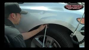 Auto Dent Removal Toyota Fender Dent Repair Youtube