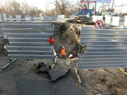 Section of <b>heating</b> line replaced in Penza at point where <b>car</b> falls into ...