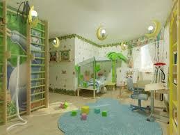 kids blue themed boy kids bedroom