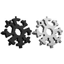 20 In 1 Stainless Steel <b>Multifunction</b> Tool <b>Snowflake Mini Portable</b> ...