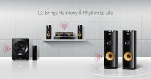 sound system wireless: a look at the family of lg home audio products that bring harmony and rhythm to