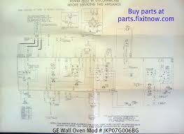 wiring diagrams and schematics fixitnow com samurai appliance ge wall oven mod jkp07g006bg