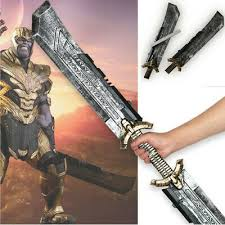 The <b>Avengers Endgame Thanos Double Edged</b> Sword Weapon ...
