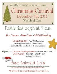 tara d arcy designs graphic design marketing flier design westfield improvement league christmas carnival flier