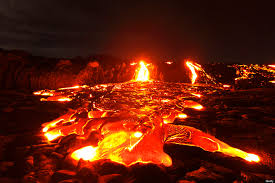 TYPES OF LAVA AND THEIR CHARACTERISTICS
