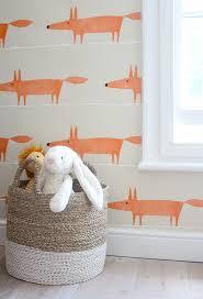Orange Bedroom Wallpaper Accent Walls
