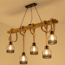 <b>American retro</b> multi heads pendant lamp <b>industrial wind</b> headlight ...