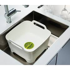 <b>Контейнер для мытья посуды</b> Wash&Drain белый - цена от 3 780 р