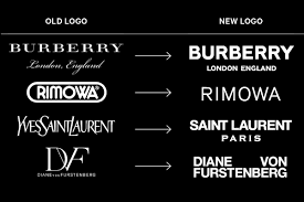 Why <b>Fashion Brands</b> All Use the Same-Style Font in Their Logos ...