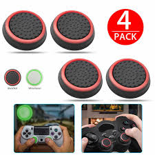 <b>4pcs</b>/lot Replacement <b>Silicone Thumbsticks Joystick</b> Cap Cover for ...
